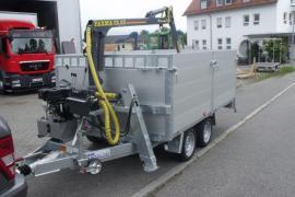 HWR-Forstanhänger Hochlader Bordwände bis 3.500 kg