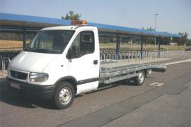 LKW-Aufbau, Autotransporter 3.500 kg bis 7.500 kg Gesamtgewicht