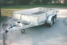 PKW-Anhänger Tieflader PTT Baggertransport bis 3.500 kg